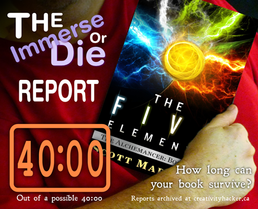 The Five Elements survives the #ImmerseOrDie challenge!