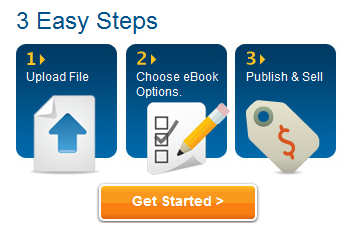 3 easy steps to publishing with Lulu