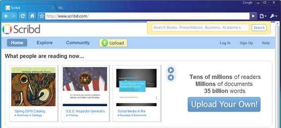 Selling Your eBook Without a Publisher, Part 6: Scribd